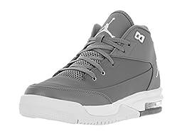 Nike Jordan Kids Jordan Flight Origin 3 Bg Cool Grey/White/Black Basketball Shoe 5 Kids US