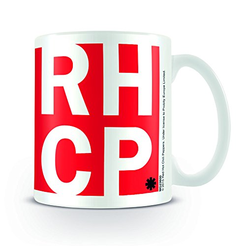 Red Hot Chili Peppers RHCP-Tazza in ceramica