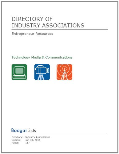 Directory of Industry Associations (BoogarLists)