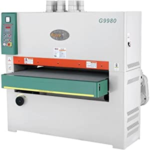grizzly g9980 51 inch wide belt sander 3 phase power