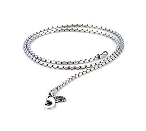 Bico Snake 16 inch Chain Necklace (F100 16in) Tribal Skate
