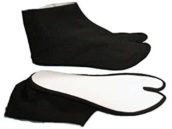 Tabi socks black (#TBi-01, 9 inch)