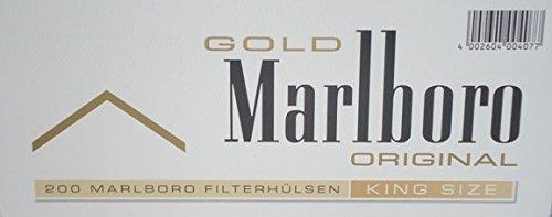 Gizeh - Confezione da 1.000 tubi per Marlboro Gold