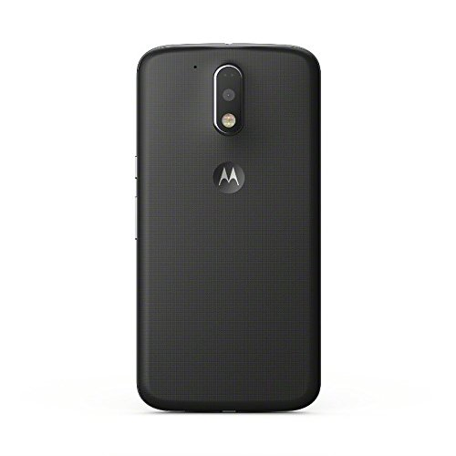 Moto G4 Plus - Smartphone libre Android 6 (5.5   Full HD, 4G, cámara de 16 MP, 2 GB de RAM, 16 GB, lector de huellas, turbo cargador y Qualcomm Snapdragon 1.5 GHz), negro