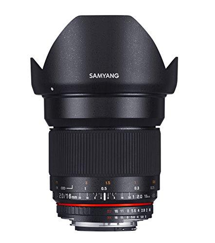 Samyang 16mm f/2.0 MFT Objectif Noir