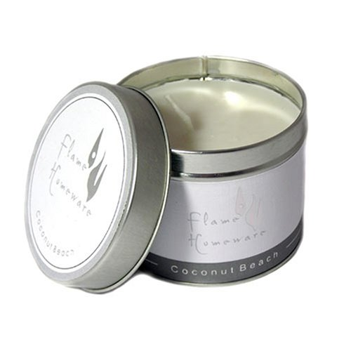 Coconut Beach Scented Candle Tin 25 Hours