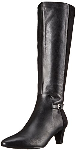 Cole Haan Women's Sylvan Harness Boot, Black Leather/Black Suede, 7 B US (Cole Haan Dress Boots For Women compare prices)