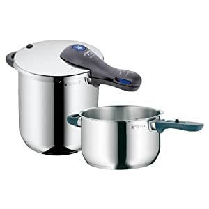 WMF Perfect Plus 8-1/2-Quart and 4-1/2-Quart Stainless