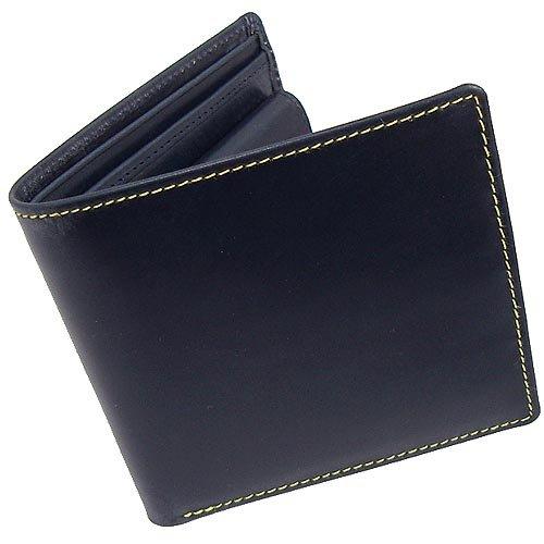 (ホワイトハウスコックス)Whitehouse Cox S7532 二つ折り財布 ネイビー
