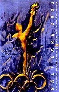 Salt Lake City 2002 Winter Olympics Ski Poster