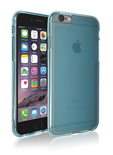iPhone6 Plus Case, Apple iPhone 6 Plus Matt Aqua, Mobile Soft Jelly Case - Retail Packaging (Sky Blue) (Iphone6 Jelly compare prices)