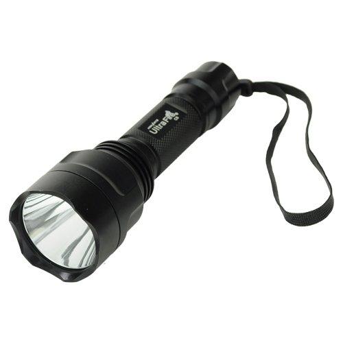 Best Brand Ultrafire C8 Cree Xml-T6 1000 Lumen Super Bright 5 Modes Led Flashlight Torch(1*18650) front-598708