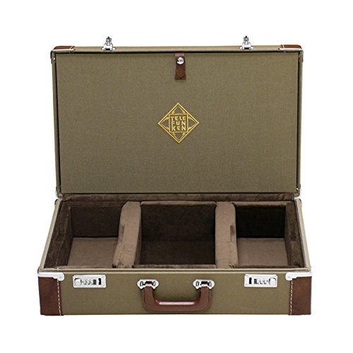 Telefunken Elektroakustik Fc50S | Combination Locking Flight Case Fits Ela M 250/251 Stereo Sets
