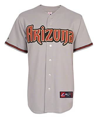 MLB Arizona Diamondbacks Away Replica Jersey, Gray by Majestic