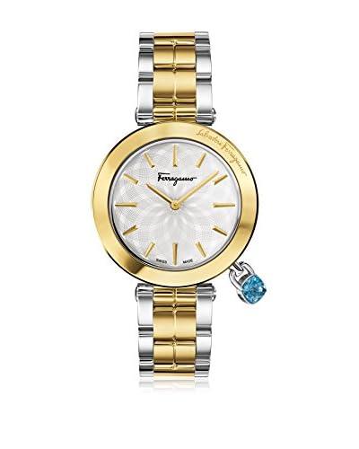 Salvatore Ferragamo Timepieces Reloj de cuarzo Woman Plateado / Dorado 36 mm