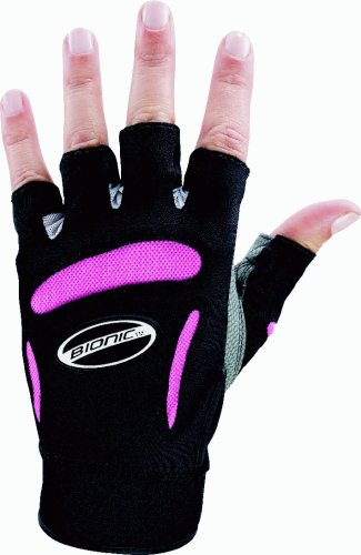Bionic Women's Fitness Gloves, Pink, Medium