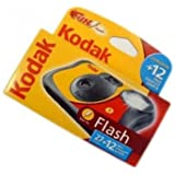 Kodak FUNFLASH/39 Disposable Camera with Flash 27+12 Exposures
