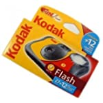 Kodak FUNFLASH/39 Disposable Camera w...