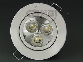 10 Stück LED Lampe 4 Watt warm weiß 300 Lumen GU-10 #4334