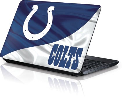 NFL® Indianapolis Colts Vinyl Laptop Skin for Toshiba Satellite C650/C665, C655 at Amazon.com