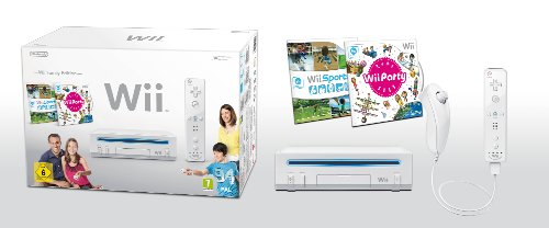 "Nintendo Wii ""Family Edition"" - Konsole inkl. Wii Sports + Wii Party, weiß, Nintendo Wii"