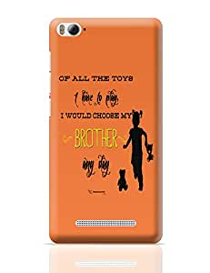 PosterGuy World's Best Brother Gift for Brother Xiaomi Mi 4i Cover
