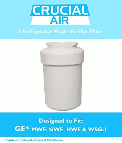Best Price! Water Purifier Filter Fits GE Refrigerator MWF GWF HWF 46-9991 WSG-1 WF287 EFF-6013A, De...