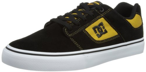 DC Shoes Mens Bridge Skateboarding Shoes D0320096 Black/Wheat 8 UK, 42 EU, 9 US