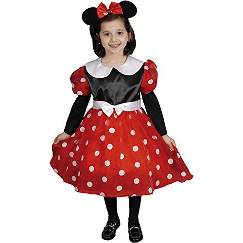Deluxe Ms. Mouse Toddler Costume - 4T