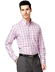 Collezione Pure Cotton Long Sleeve Checked Shirt