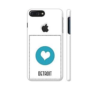 Colorpur I Love Detroit Artwork On Apple iPhone 7 Plus Logo Cut Cover (Designer Mobile Back Case) | Artist: Torben