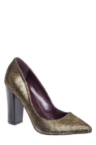 Report Signature Murphy Chunky High Heel Pointed Toe Pump
