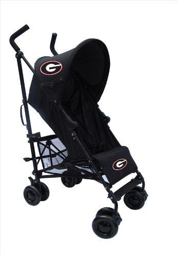 University Of Georgia Black Umbrella Stroller front-129781