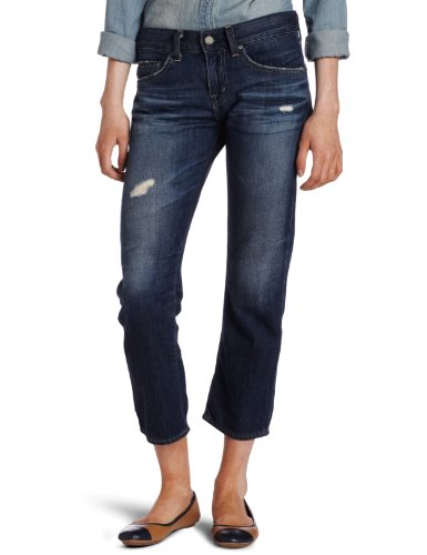 AG Adriano Goldschmied Women's Ex-boyfriend Crop Jean