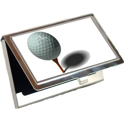 Golf Ball Business Card Holder