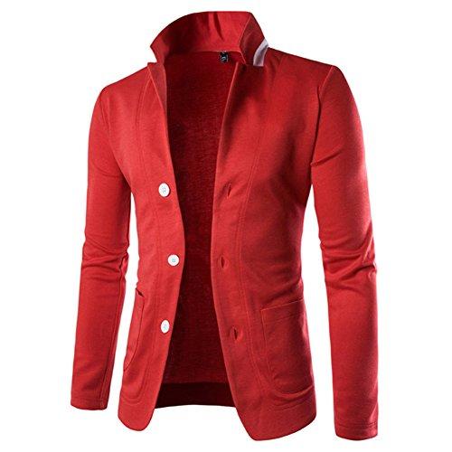 kiwitwo herren slim fit stylish sakko viele farben blazer. Black Bedroom Furniture Sets. Home Design Ideas