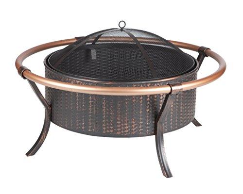 Fire-Sense-Copper-Rail-Fire-Pit