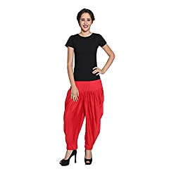 Pietra Red colored Pan Style Dhoti