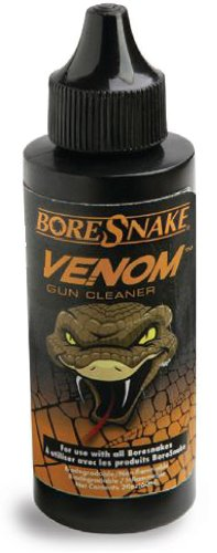 Hoppe's BoreSnake Venom Gun Cleaner, 4-Ounce Bottle