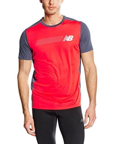 New Balance T-Shirt Manica Corta NBMT53204FTH
