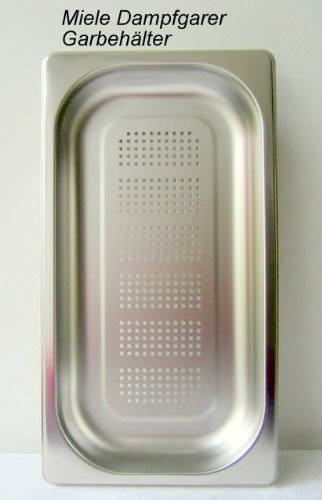 Miele Dggl Perforated Pan (51oz) for Miele Steam Oven (Miele Steam Oven Parts compare prices)