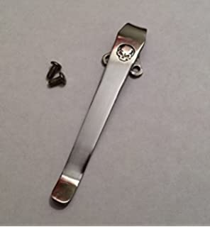 Polish knife pocket clip