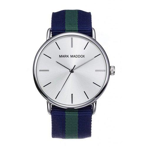 Orologi Mark Maddox Timeless Luxury Hc3010-87 Uomo Bianco