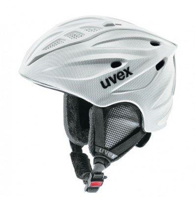 uvex Skihelm comanche carbon look white, Helme :51-54
