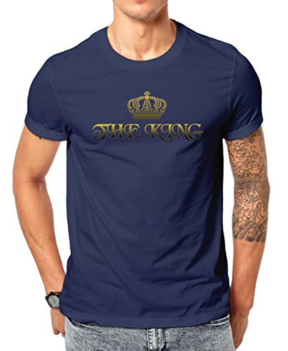 the-queen-series-for-couples-her-majesty-has-a-king-mens-classic-t-shirt-by-jungle-tribe-xx-large