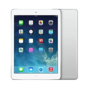 Apple iPad Air MD788LL/A (16GB, Wi-Fi, White with Silver) NEWEST VERSION