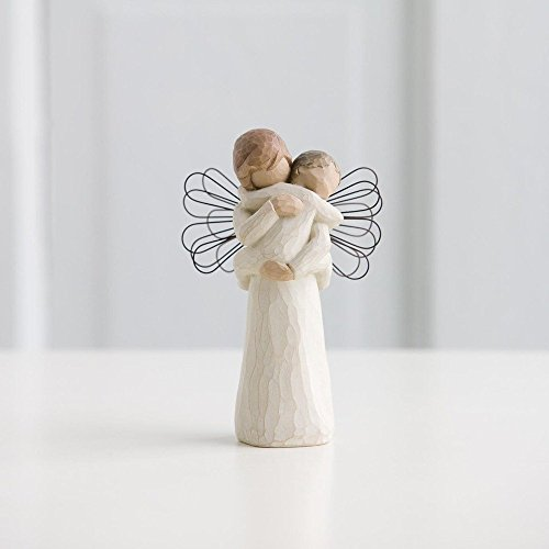 Willow Tree Angel Embrace Figurine - Susan Lordi Boxed