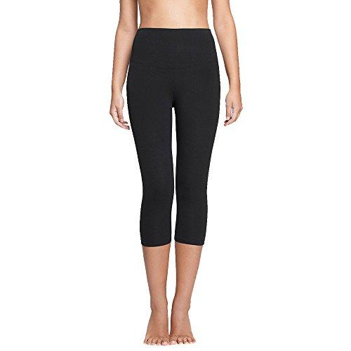 Yummie Women's Active Jocelyn Capri Legging (Black,S)