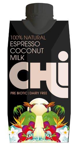 Chi 100 Percent Natural Espresso Coconut Milk Case (Pack of 12)