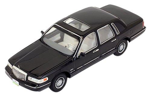 modellino-auto-lincoln-town-car-1996-nero-scala-143-model